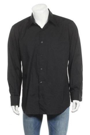 Ανδρικό πουκάμισο Express, Μέγεθος XL, Χρώμα Μαύρο, 97% βαμβάκι, 3% ελαστάνη, Τιμή 23,45€