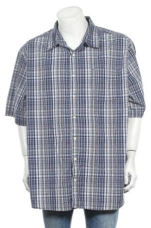 Ανδρικό πουκάμισο Faded Glory, Μέγεθος 3XL, Χρώμα Μπλέ, 60% βαμβάκι, 40% πολυεστέρας, Τιμή 10,39€