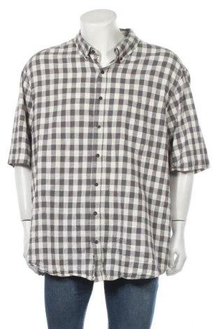 Ανδρικό πουκάμισο Faded Glory, Μέγεθος 3XL, Χρώμα Γκρί, Βαμβάκι, Τιμή 11,11€