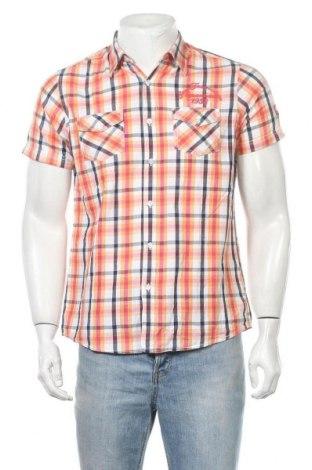 Ανδρικό πουκάμισο Fishbone, Μέγεθος M, Χρώμα Πολύχρωμο, Βαμβάκι, Τιμή 9,74€