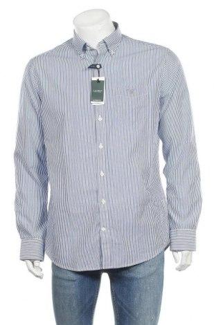 Мъжка риза Gant, Размер L, Цвят Син, 100% памук, Цена 64,50лв.