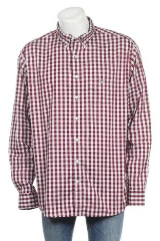 Мъжка риза Gant, Размер 3XL, Цвят Червен, Памук, Цена 71,40лв.