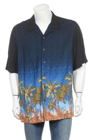 Ανδρικό πουκάμισο George, Μέγεθος XXL, Χρώμα Μπλέ, Βισκόζη, Τιμή 10,39€