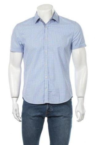 Ανδρικό πουκάμισο Hugo Boss, Μέγεθος M, Χρώμα Μπλέ, Βαμβάκι, Τιμή 30,91€