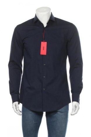 Ανδρικό πουκάμισο Hugo Boss, Μέγεθος M, Χρώμα Μπλέ, Βαμβάκι, Τιμή 83,78€