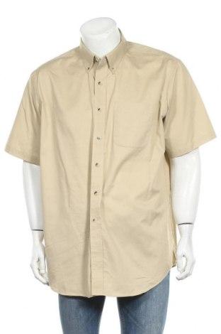 Мъжка риза L.L. Bean, Размер XL, Цвят Бежов, Памук, Цена 17,01лв.
