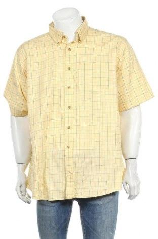Мъжка риза L.L. Bean, Размер XL, Цвят Жълт, Памук, Цена 17,85лв.
