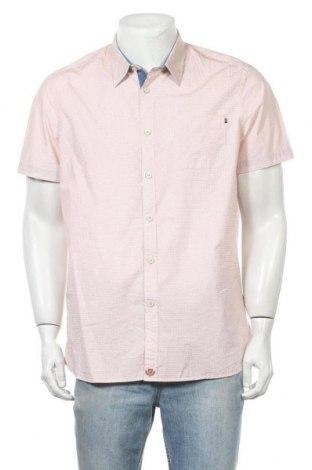 Мъжка риза Maddison, Размер L, Цвят Червен, Памук, Цена 17,85лв.