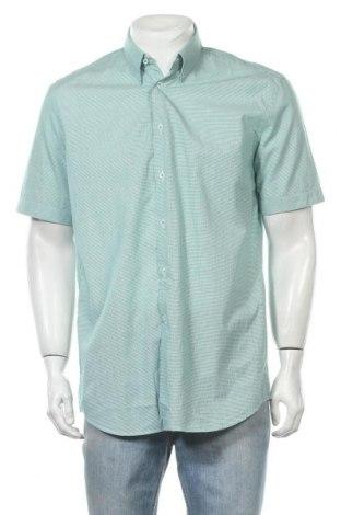 Мъжка риза Maddison, Размер L, Цвят Зелен, Памук, Цена 17,85лв.