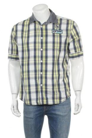 Ανδρικό πουκάμισο Manguun, Μέγεθος L, Χρώμα Πολύχρωμο, Βαμβάκι, Τιμή 8,31€