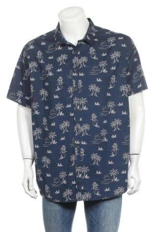 Ανδρικό πουκάμισο No Boundaries, Μέγεθος XXL, Χρώμα Μπλέ, 97% βαμβάκι, 3% ελαστάνη, Τιμή 18,84€