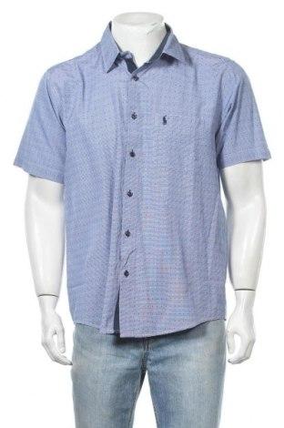 Ανδρικό πουκάμισο Polo By Ralph Lauren, Μέγεθος L, Χρώμα Μπλέ, Τιμή 25,92€