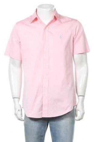 Ανδρικό πουκάμισο Polo By Ralph Lauren, Μέγεθος M, Χρώμα Ρόζ , Βαμβάκι, Τιμή 13,25€