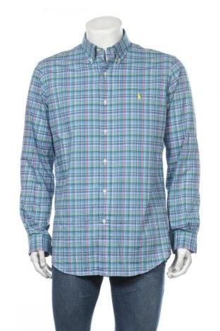 Мъжка риза Ralph Lauren, Размер L, Цвят Многоцветен, Памук, Цена 89,40лв.