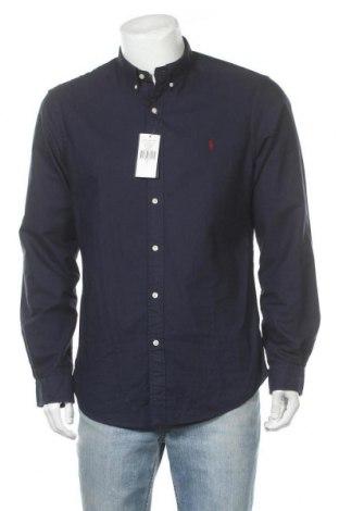 Мъжка риза Ralph Lauren, Размер L, Цвят Син, Памук, Цена 95,40лв.