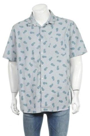 Ανδρικό πουκάμισο Rivers, Μέγεθος XXL, Χρώμα Μπλέ, Βαμβάκι, Τιμή 11,69€