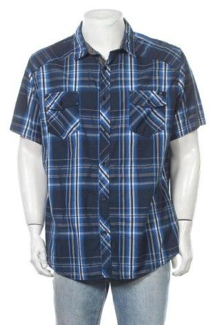Ανδρικό πουκάμισο Rock & Republic, Μέγεθος XXL, Χρώμα Πολύχρωμο, 55% βαμβάκι, 45% πολυεστέρας, Τιμή 10,39€