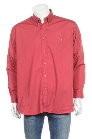 Мъжка риза Roger David, Размер XXL, Цвят Червен, 65% полиестер, 35% памук, Цена 12,97лв.