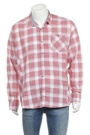 Мъжка риза Rw & Co., Размер XL, Цвят Червен, Памук, Цена 8,93лв.