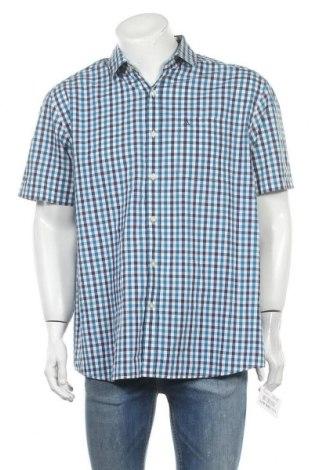 Ανδρικό πουκάμισο Schoffel, Μέγεθος XL, Χρώμα Μπλέ, 41% πολυεστέρας, 37% πολυαμίδη, 22% βαμβάκι, Τιμή 6,14€