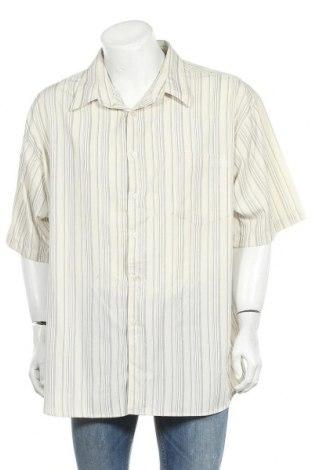 Ανδρικό πουκάμισο Solutions, Μέγεθος 3XL, Χρώμα Εκρού, Πολυεστέρας, Τιμή 12,34€