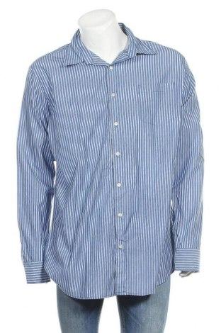 Ανδρικό πουκάμισο Sonoma, Μέγεθος XL, Χρώμα Μπλέ, Βαμβάκι, Τιμή 9,94€