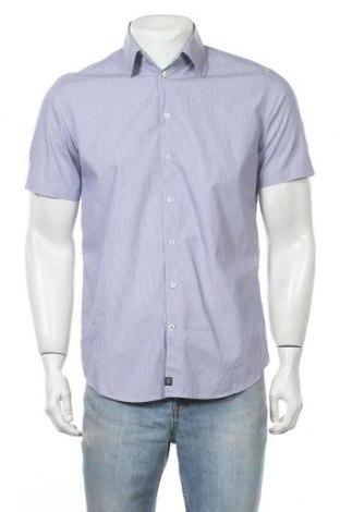Ανδρικό πουκάμισο Strellson, Μέγεθος M, Χρώμα Μπλέ, Βαμβάκι, Τιμή 16,05€