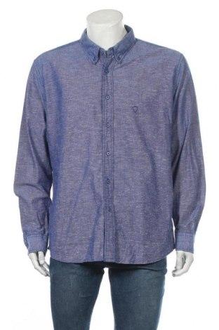 Ανδρικό πουκάμισο Strellson, Μέγεθος XXL, Χρώμα Μπλέ, Βαμβάκι, Τιμή 16,66€