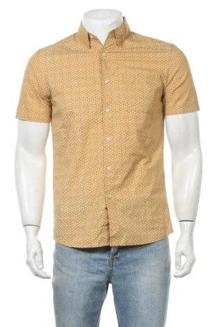 Ανδρικό πουκάμισο Tu, Μέγεθος S, Χρώμα Κίτρινο, Βαμβάκι, Τιμή 8,83€