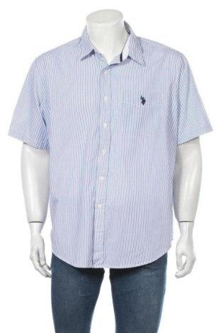 Мъжка риза U.S. Polo Assn., Размер XL, Цвят Син, 60% памук, 40% полиестер, Цена 35,70лв.
