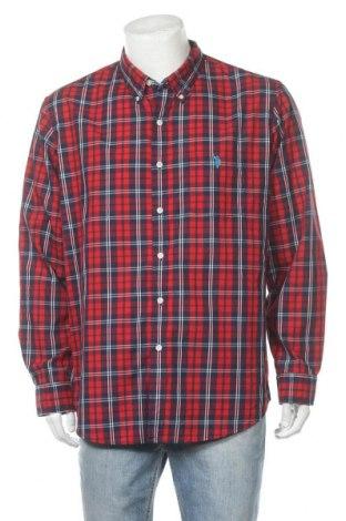 Мъжка риза U.S. Polo Assn., Размер XL, Цвят Червен, Памук, Цена 30,24лв.