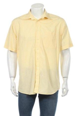 Мъжка риза Vinci, Размер L, Цвят Жълт, Памук, Цена 7,14лв.
