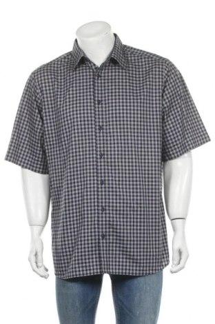 Мъжка риза Walbusch, Размер XL, Цвят Син, Памук, Цена 4,99лв.