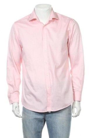 Ανδρικό πουκάμισο Yorn, Μέγεθος M, Χρώμα Ρόζ , Βαμβάκι, Τιμή 8,02€