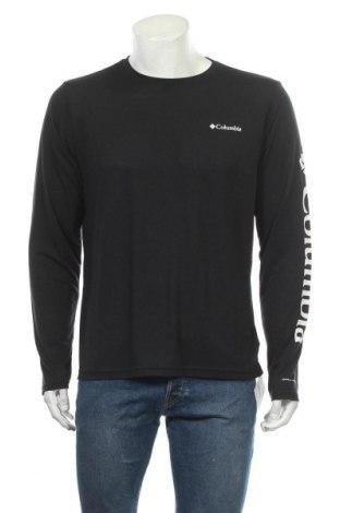 Ανδρική αθλητική μπλούζα Columbia, Μέγεθος M, Χρώμα Μαύρο, 65% πολυεστέρας, 35% βισκόζη, Τιμή 19,02€