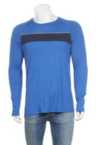 Ανδρική αθλητική μπλούζα Crane, Μέγεθος L, Χρώμα Μπλέ, 95% πολυεστέρας, 5% ελαστάνη, Τιμή 8,77€