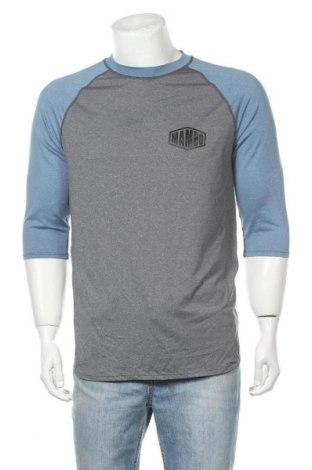 Ανδρική αθλητική μπλούζα Mambo, Μέγεθος M, Χρώμα Γκρί, Πολυεστέρας, ελαστάνη, Τιμή 11,11€