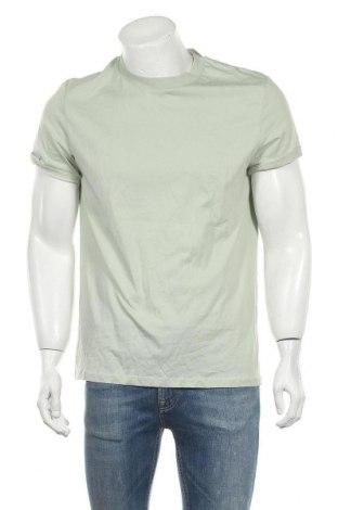 Ανδρικό t-shirt ASOS, Μέγεθος M, Χρώμα Πράσινο, Βαμβάκι, Τιμή 12,86€