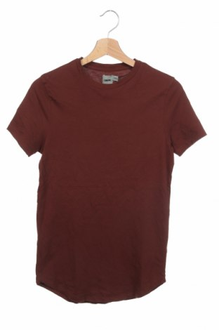Ανδρικό t-shirt ASOS, Μέγεθος XXS, Χρώμα Καφέ, Βαμβάκι, Τιμή 11,11€