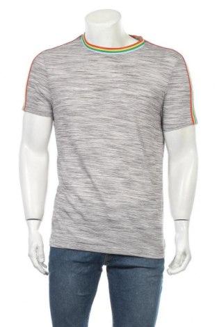 Ανδρικό t-shirt ASOS, Μέγεθος L, Χρώμα Γκρί, 82% πολυεστέρας, 18% βισκόζη, Τιμή 14,81€