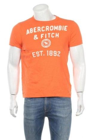 Ανδρικό t-shirt Abercrombie & Fitch, Μέγεθος M, Χρώμα Πορτοκαλί, Βαμβάκι, Τιμή 14,91€