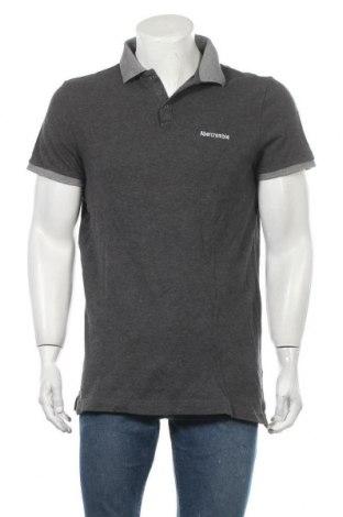 Ανδρικό t-shirt Abercrombie & Fitch, Μέγεθος XL, Χρώμα Γκρί, Βαμβάκι, Τιμή 14,36€