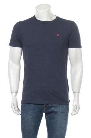 Ανδρικό t-shirt Abercrombie & Fitch, Μέγεθος M, Χρώμα Μπλέ, 100% βαμβάκι, Τιμή 17,78€