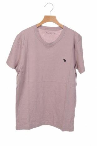 Ανδρικό t-shirt Abercrombie & Fitch, Μέγεθος XS, Χρώμα Βιολετί, 100% βαμβάκι, Τιμή 20,10€