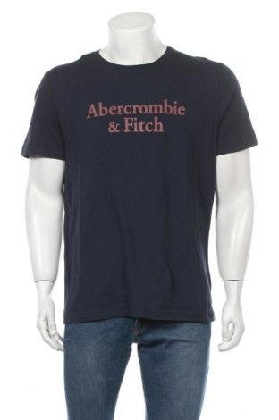 Ανδρικό t-shirt Abercrombie & Fitch, Μέγεθος XL, Χρώμα Μπλέ, Βαμβάκι, Τιμή 30,16€
