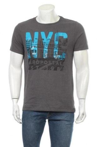 Ανδρικό t-shirt Aeropostale, Μέγεθος M, Χρώμα Γκρί, Βαμβάκι, Τιμή 16,66€