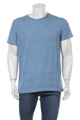 Ανδρικό t-shirt American Eagle, Μέγεθος L, Χρώμα Μπλέ, 60% βαμβάκι, 40% πολυεστέρας, Τιμή 9,35€
