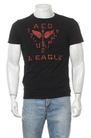 Ανδρικό t-shirt American Eagle, Μέγεθος M, Χρώμα Μαύρο, Βαμβάκι, Τιμή 9,94€