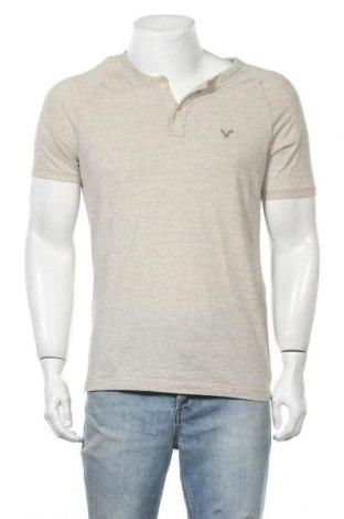 Ανδρικό t-shirt American Eagle, Μέγεθος M, Χρώμα  Μπέζ, 60% βαμβάκι, 40% πολυεστέρας, Τιμή 11,04€
