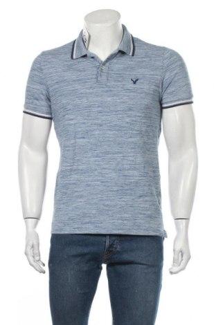 Ανδρικό t-shirt American Eagle, Μέγεθος S, Χρώμα Μπλέ, 58% βαμβάκι, 39% πολυεστέρας, 3% ελαστάνη, Τιμή 10,39€